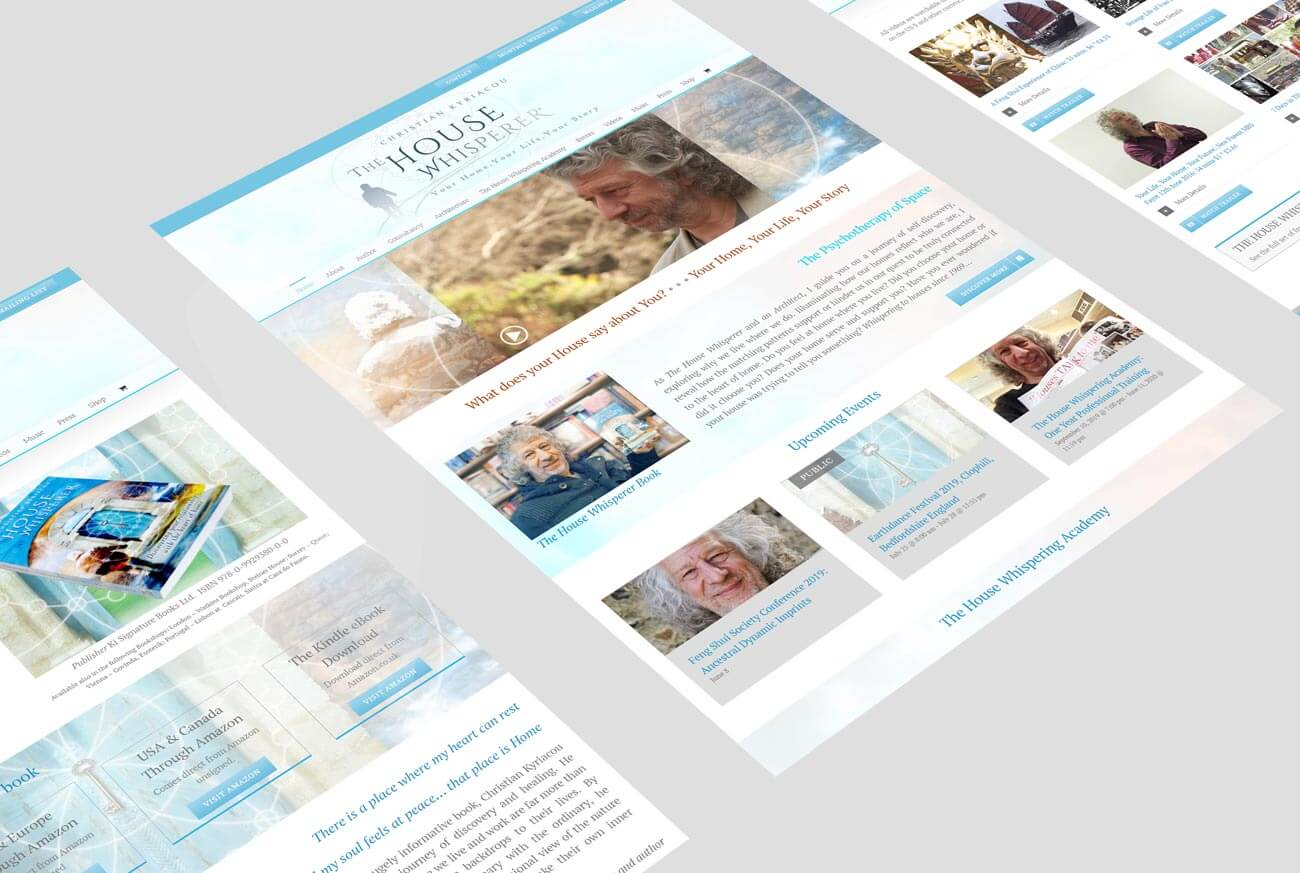 Web Design Views for Architect Site