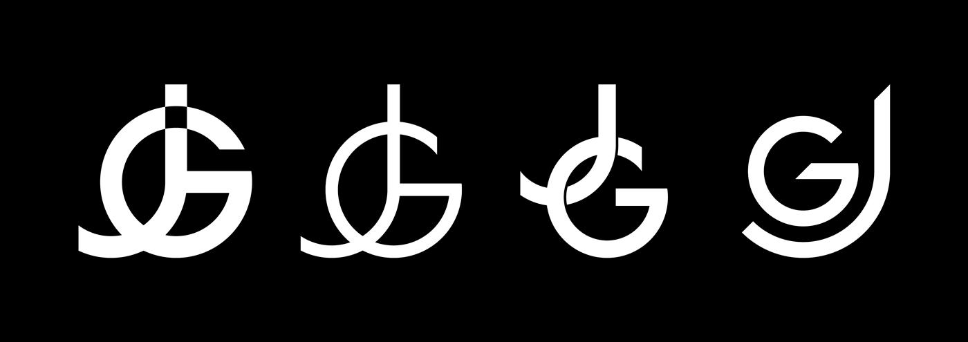 Josh Goldsworthy - Various monogram design options