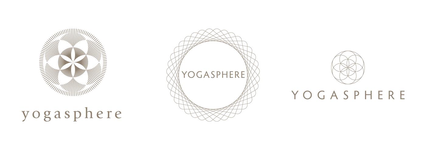 Yogasphere - Alternative Logo Proposals