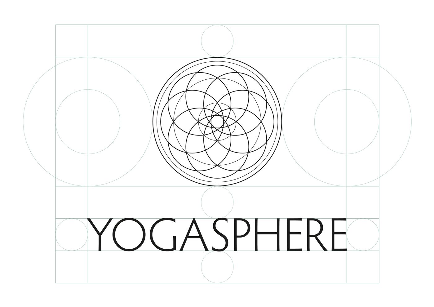 Yogasphere - Logo geometry insight