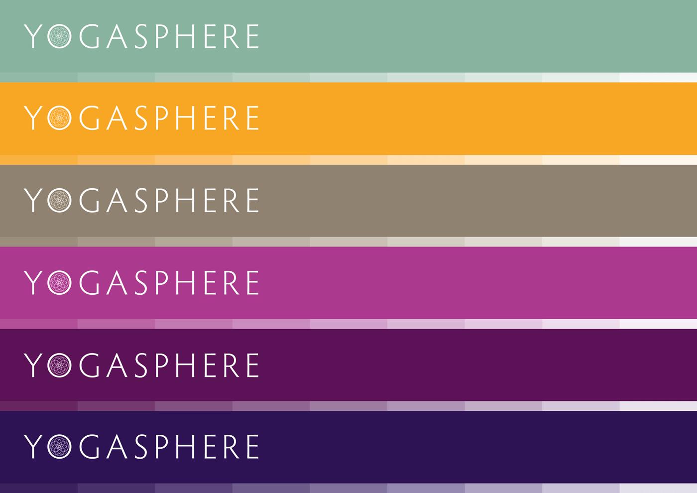 Yogasphere - Colour palette