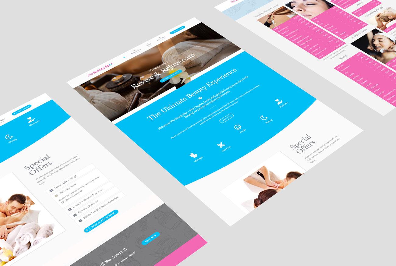 Web Design for a Beauty Salon