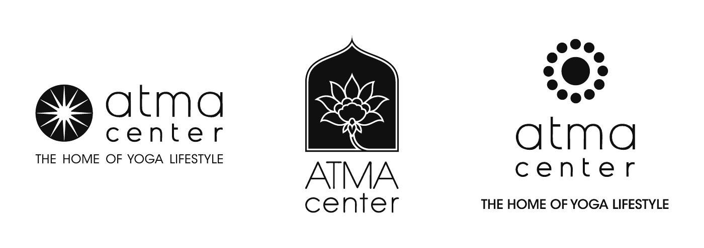 Atma Center - Various Logo Design Proposals