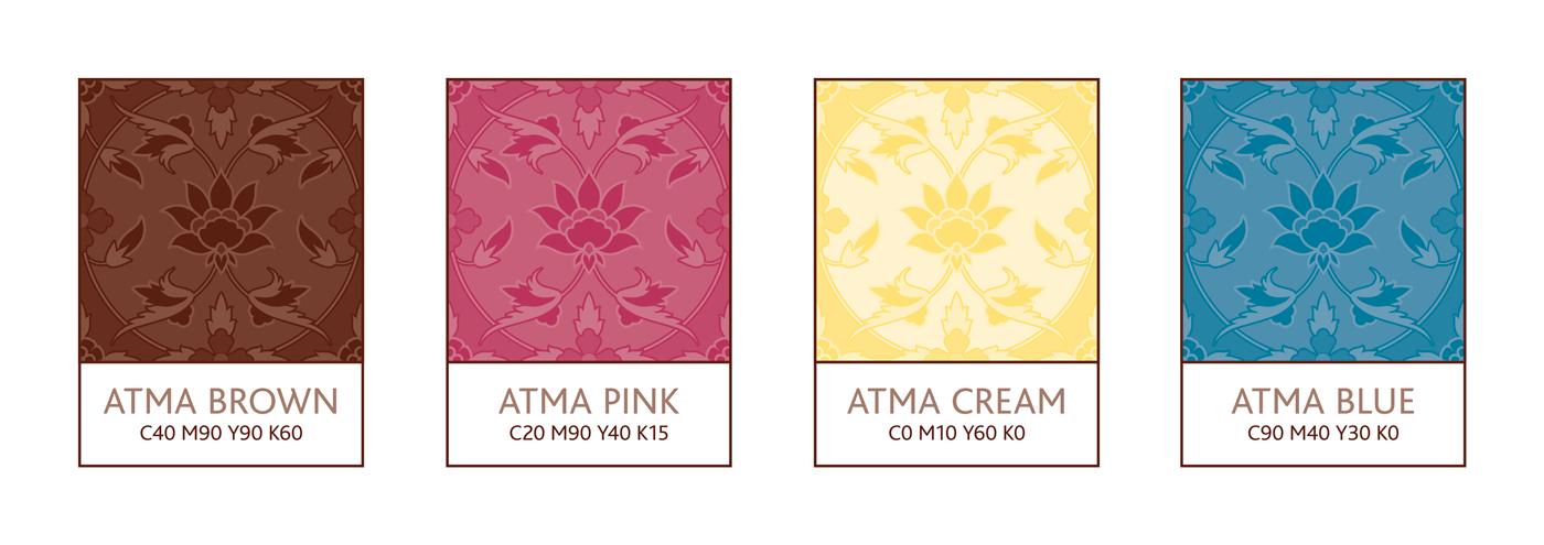 Atma Center - Brand Colours