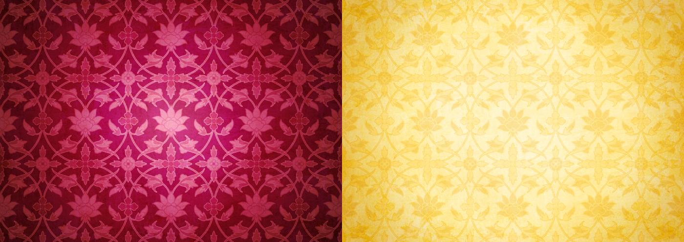 Atma Center - Brand Patterns Light and Dark Varieties