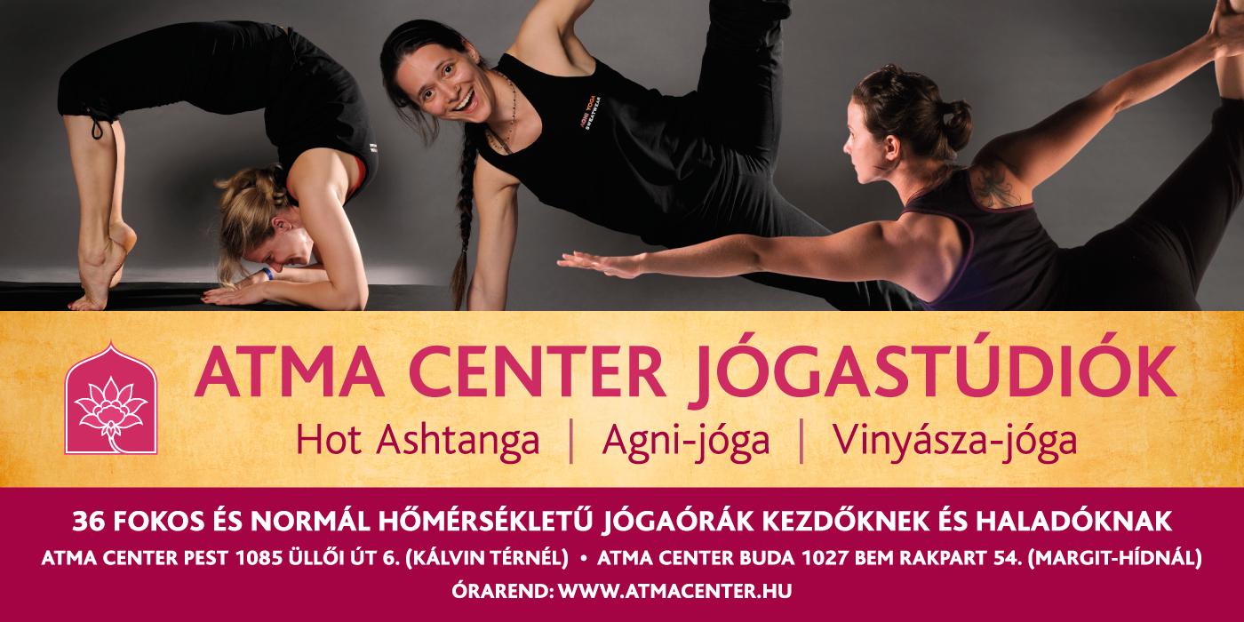 Atma Center - Flyer Design for the Yoga Studio