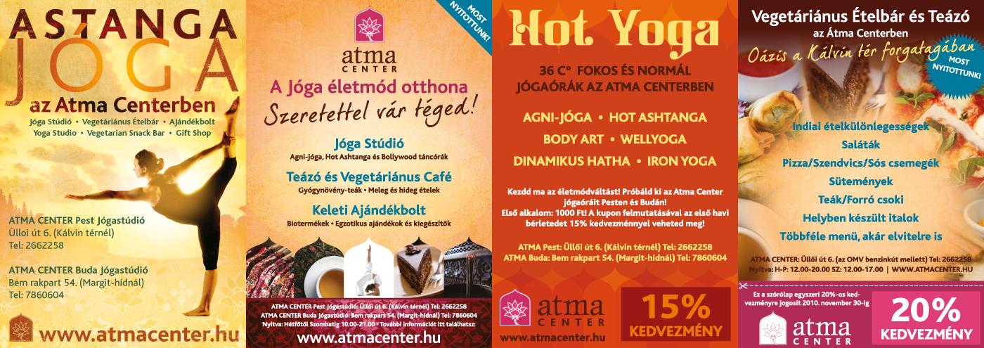 Atma Center - Marketing Materials for Yoga Courses