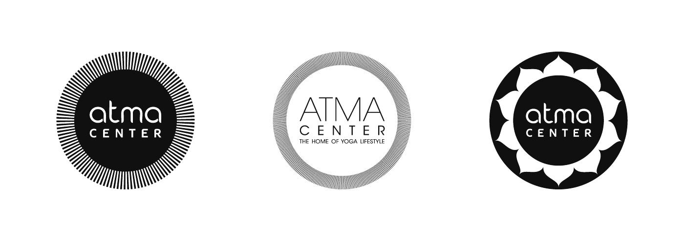 Atma Center - Logo Design Proposals