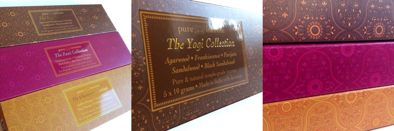 Carton Printing Closeups for an Incense Company