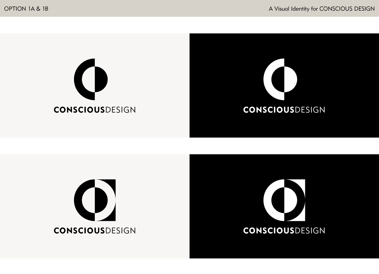 Logo Design Proposals for a Feng Shui Company