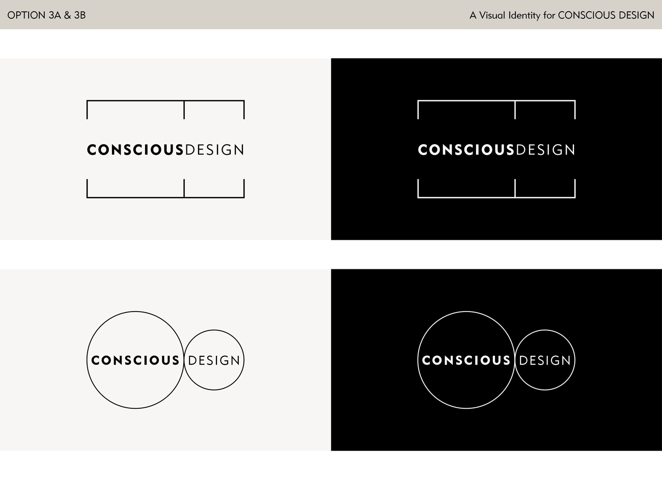 Logo Design Options for a Feng Shui Company