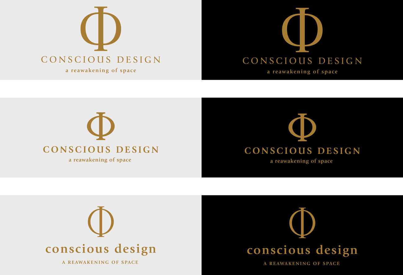 Chosen Logo Concept for The Conscious Design Institute
