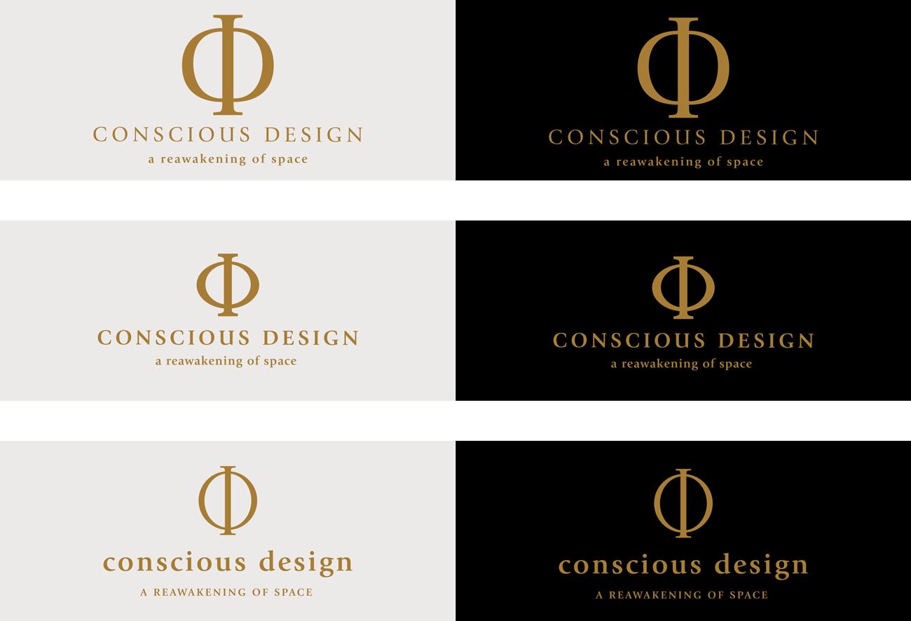 Chosen Logo Concept for The Conscious Design Institute