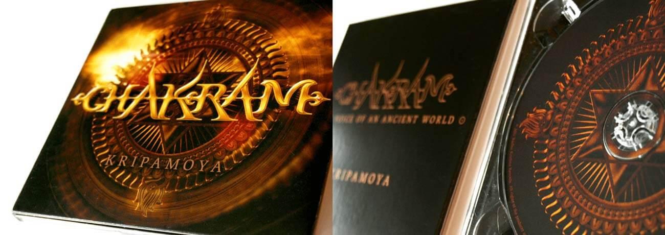 Photo of the finished Chakram CD