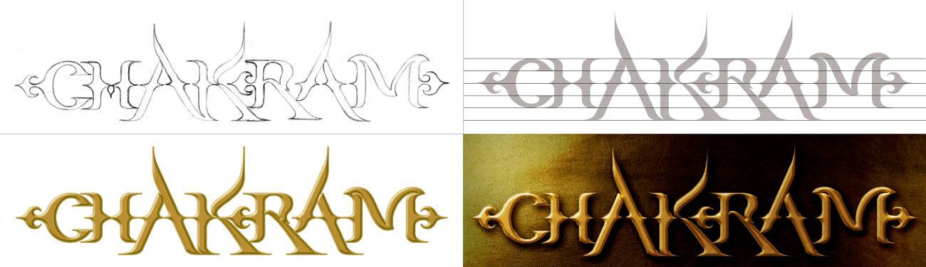 Chakram logo development