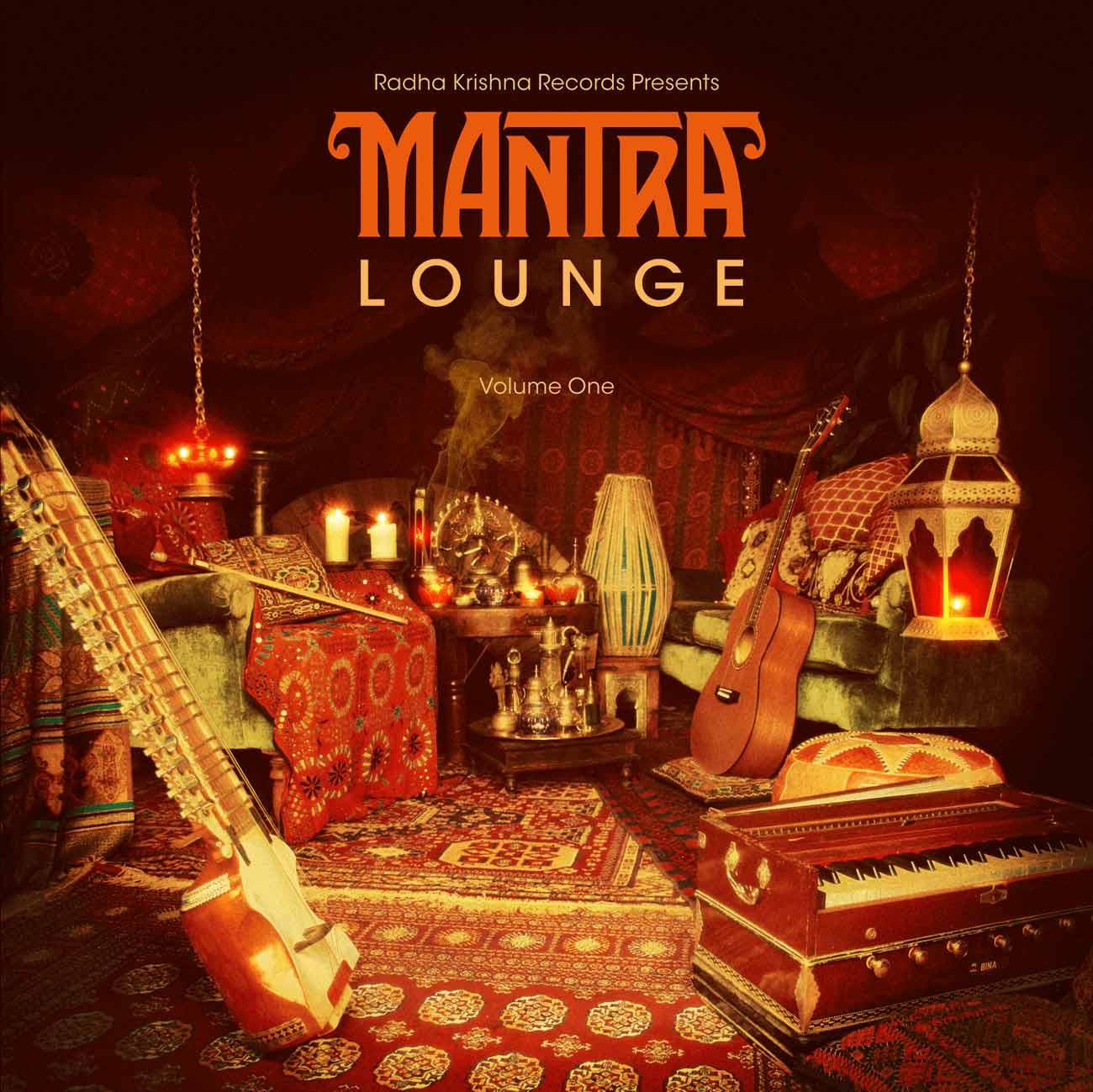 Mantra Lounge CD finished cover design