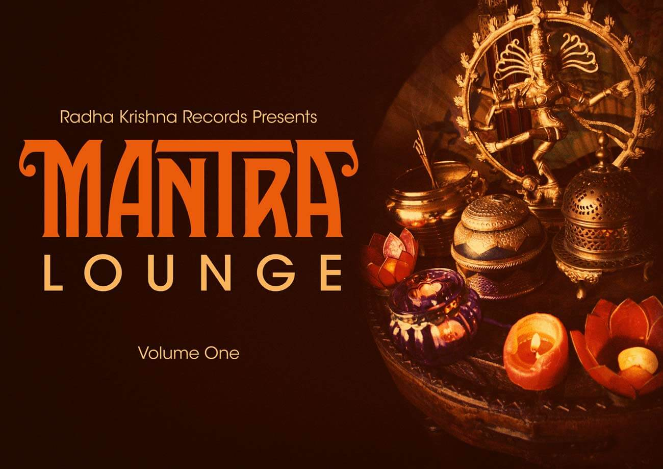 Mantra Lounge CD front initial design