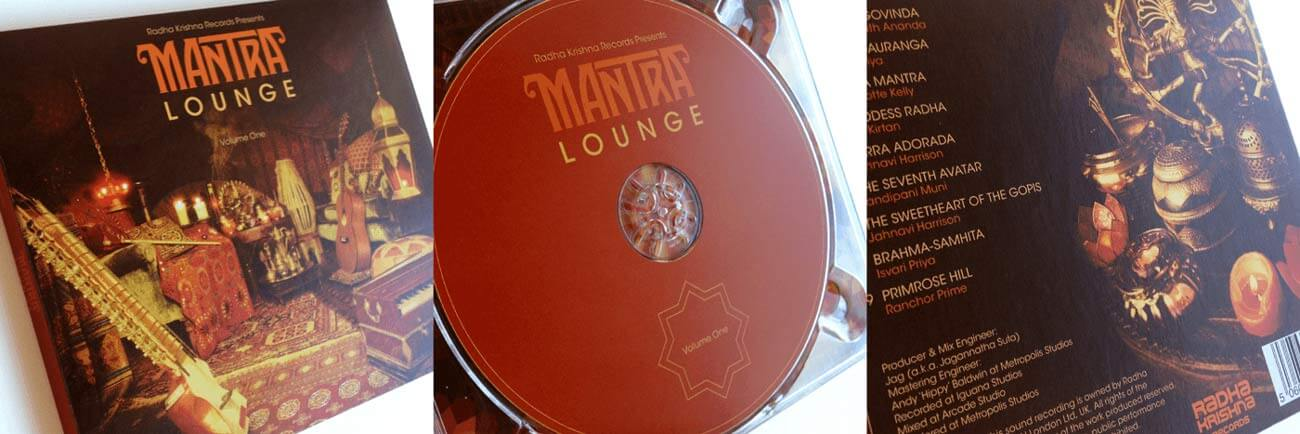 Photos of the finished Mantra Lounge CD