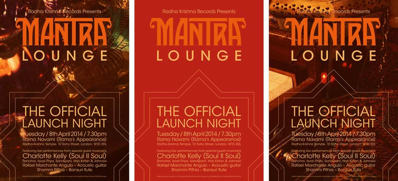 Mantra Lounge CD launch night flyers