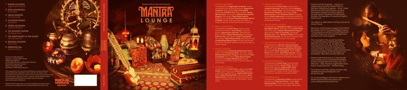 Mantra Lounge CD artwork - inside 2