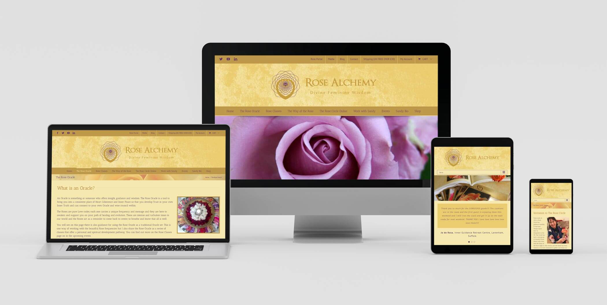 Responsive Web Design Layouts on Various Devices - Wordpress Web Design