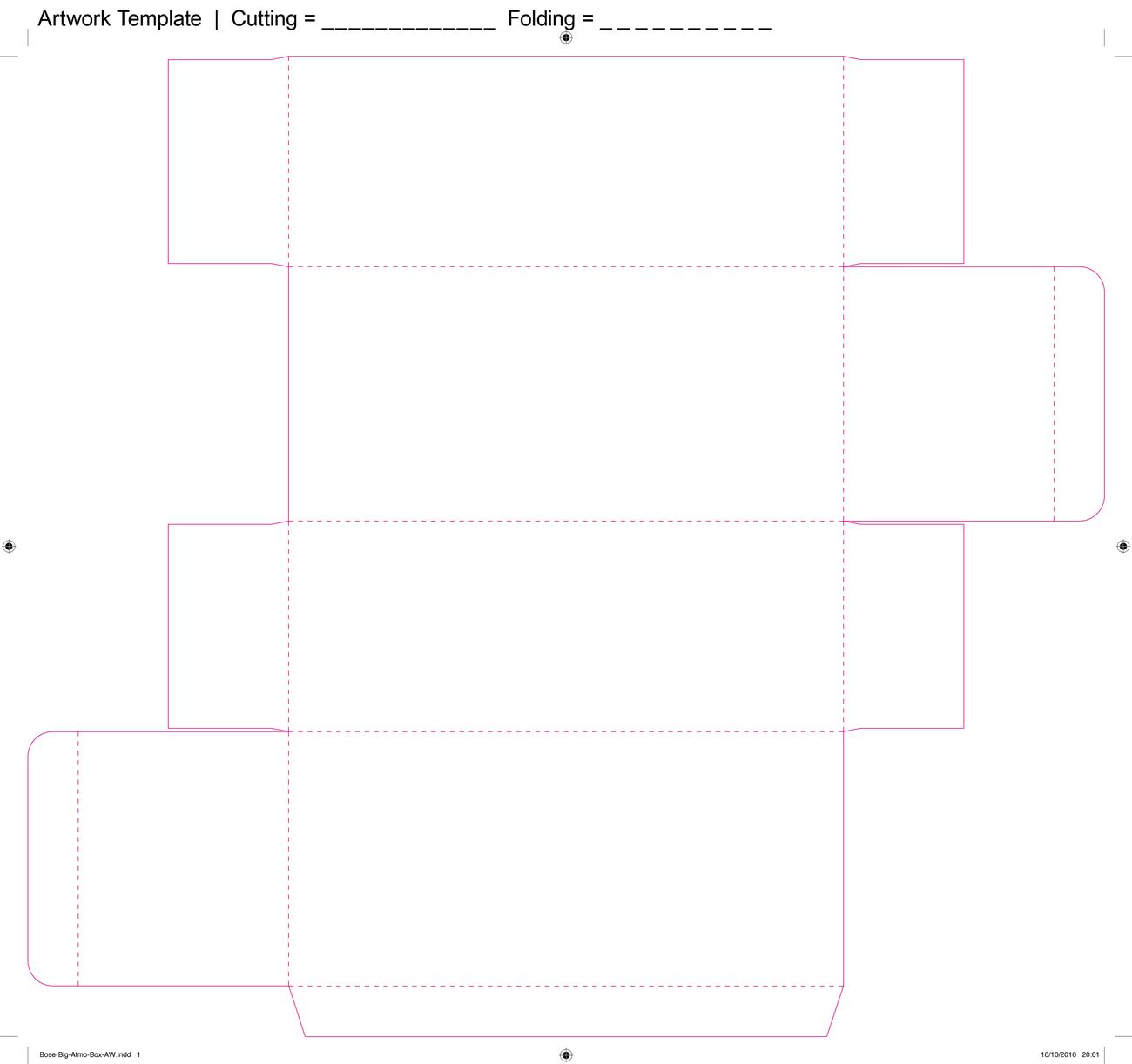 Carton Printing - Template