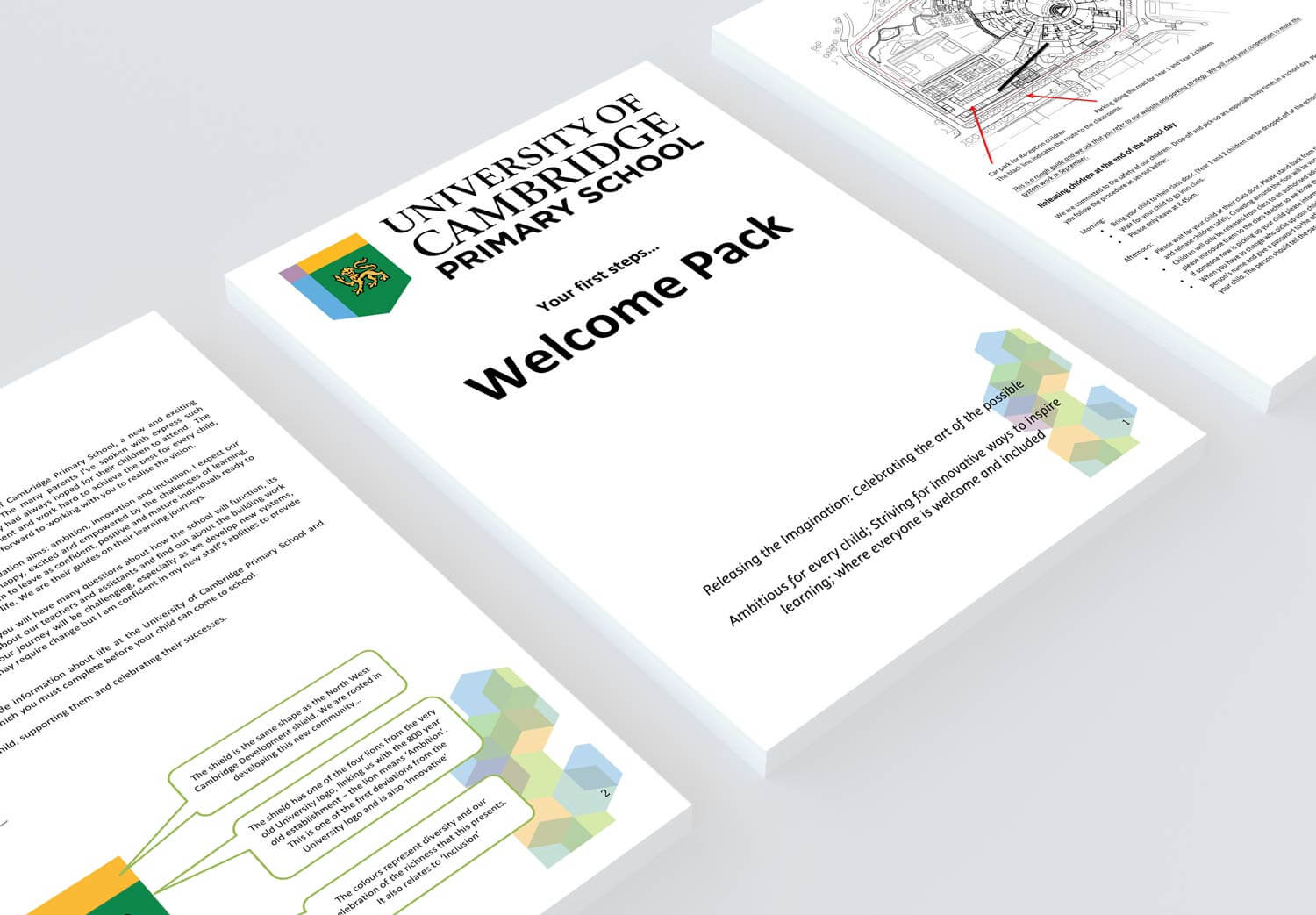 Welcome Pack Printing for a School