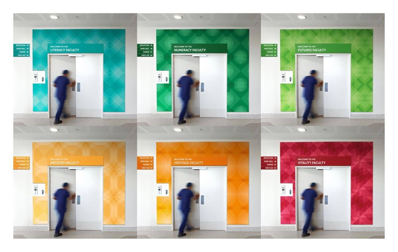 Colour Coding for School Departments