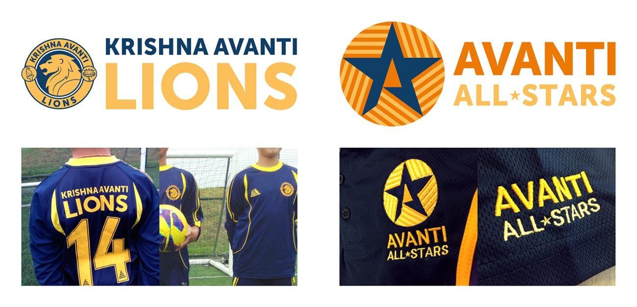 Branding for School Football and Netball Teams