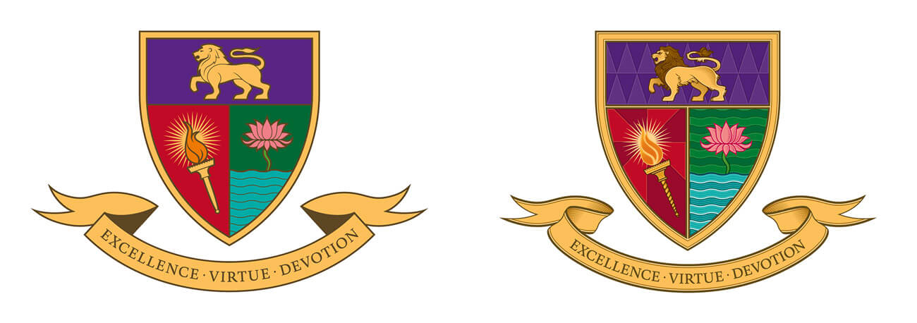 School Crest - Standard and Ceremonial Versions