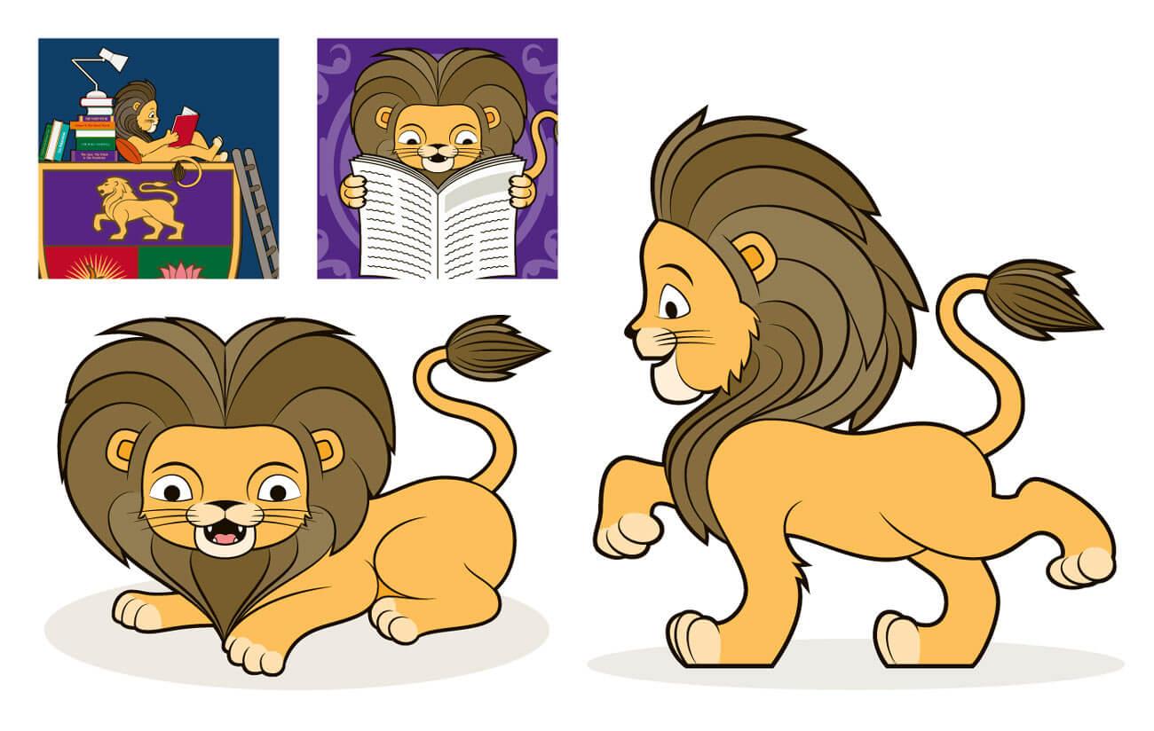Primary School Mascot Illustration