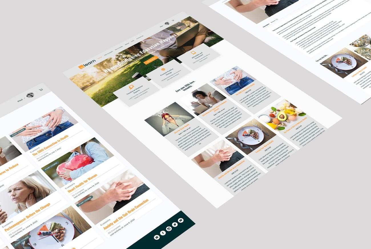 HealthMeans Web Page Views